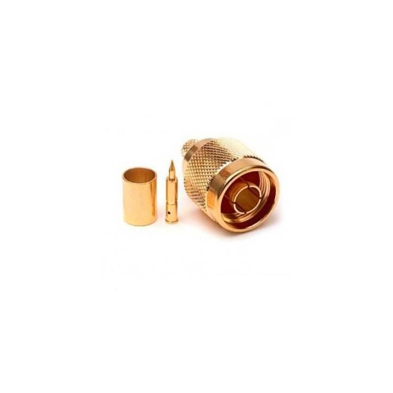 Коннектор N-Type Male (GOLD)