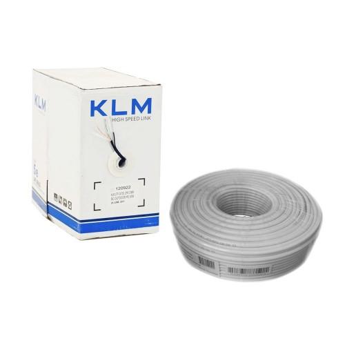 KLM UTP cat5e внутрішній 2*2*0.50 ал.мідь