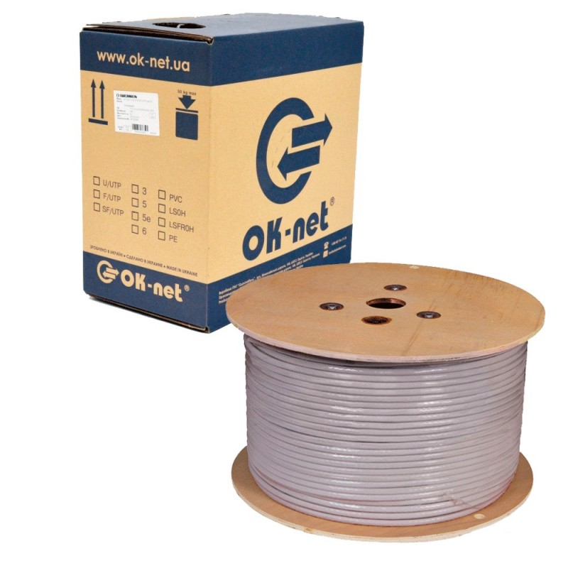 Ok-net КПВ-ВП (350) 4х2х0.50 (UTP-cat.5е)