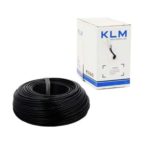 KLM FTP cat5e наружный с тросом 4*2*0.50 ал.медь