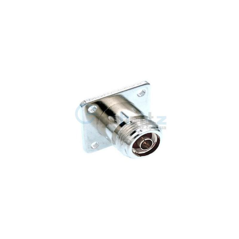 Конектор N-Type Male (приладний з фланцем)