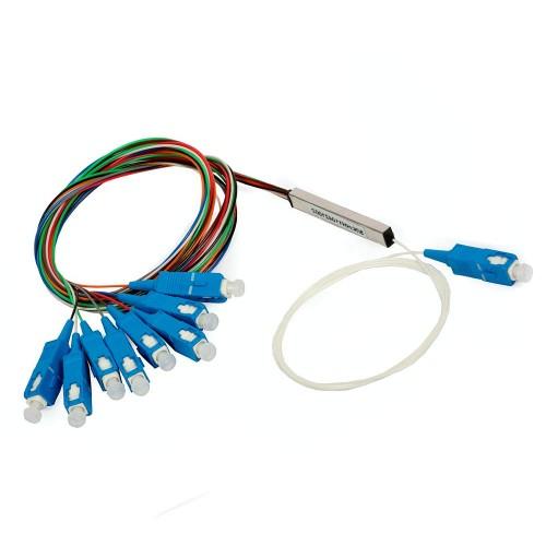 PLC splitter 1х8, SC/UPC