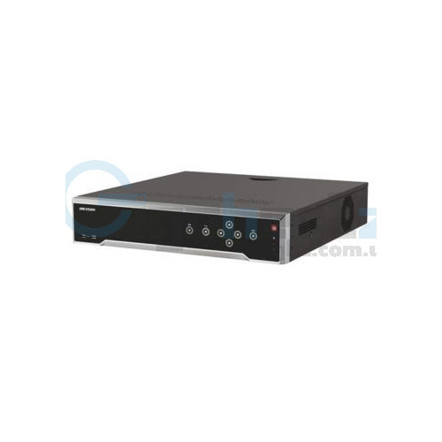 32-канальный 4K NVR c PoE коммутатором на 24 порта - Hikvision - DS-7732NI-I4/24P
