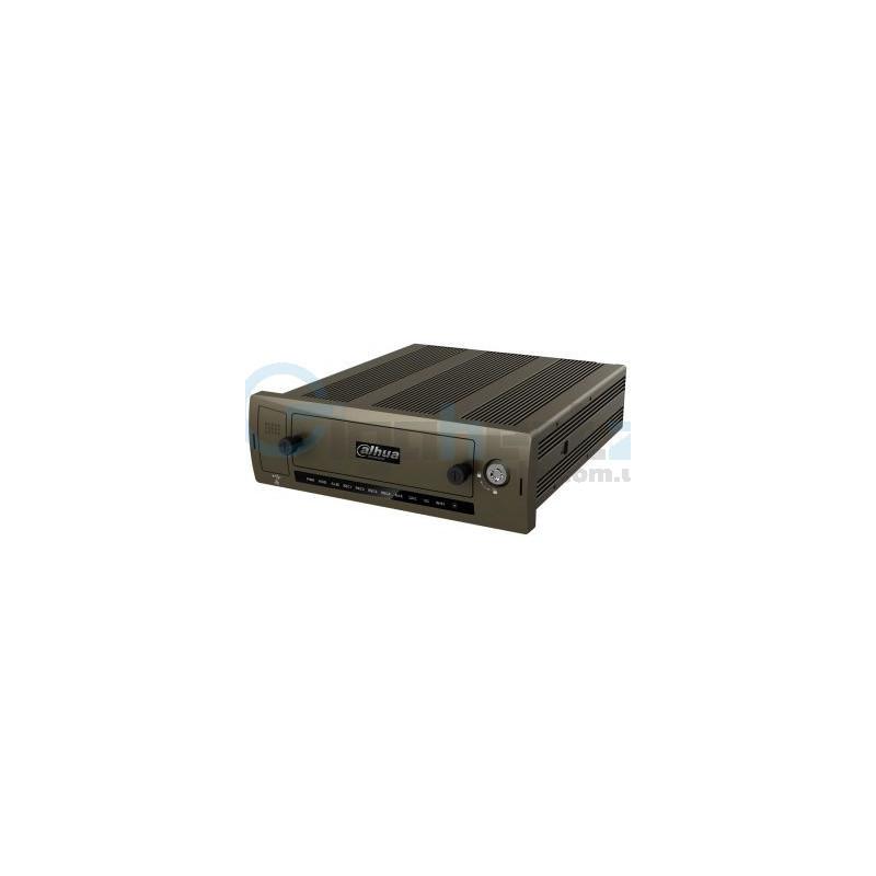 4-канальный автомобильный HDCVI видеорегистратор - Dahua - DH-MCVR5104-GCW