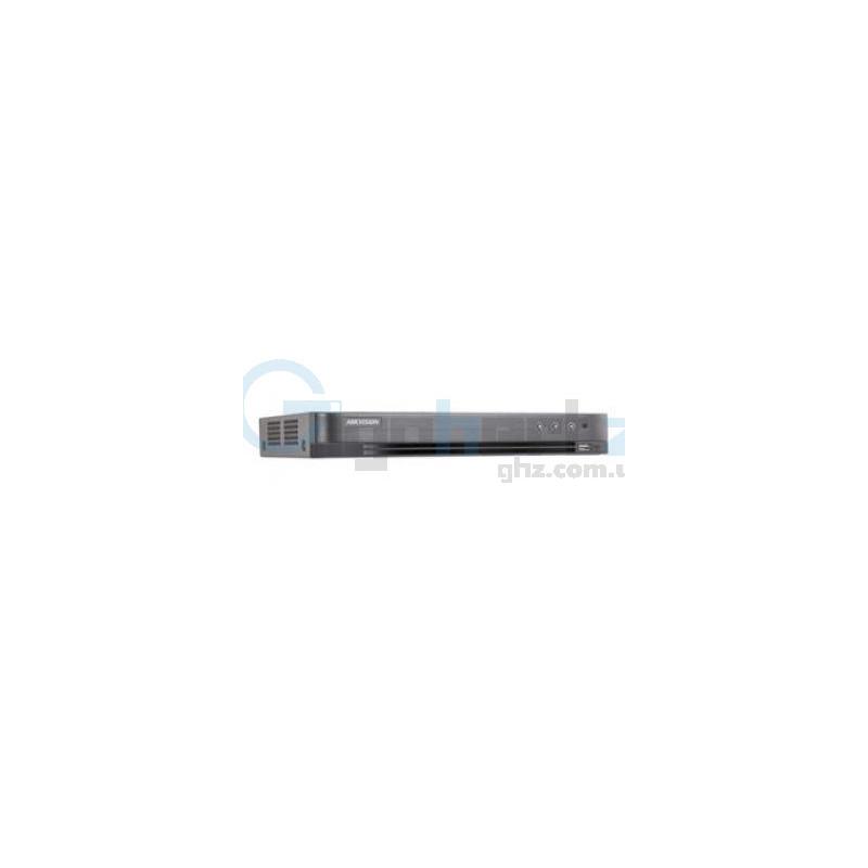 8-канальный Turbo HD видеорегистратор с поддержкой POC - Hikvision - DS-7208HQHI-K2/P (PoC)