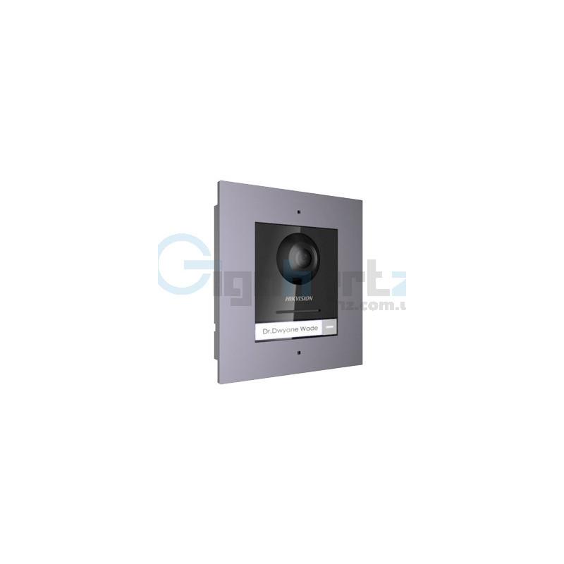 Комплект модуля вызывной IP панели + врезная рамка - Hikvision - DS-KD8003-IME1/Flush