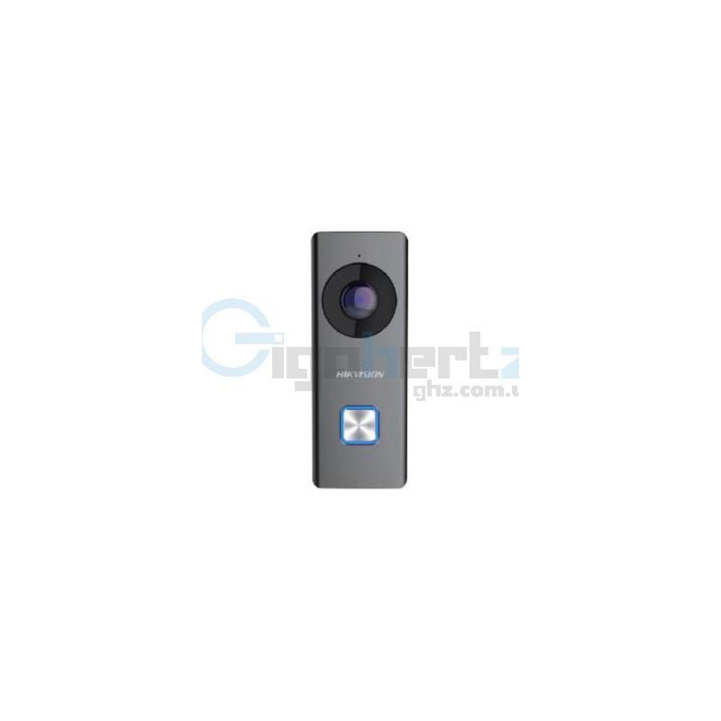 2МП дверной видеозвонок - Hikvision - DS-KB6003-WIP