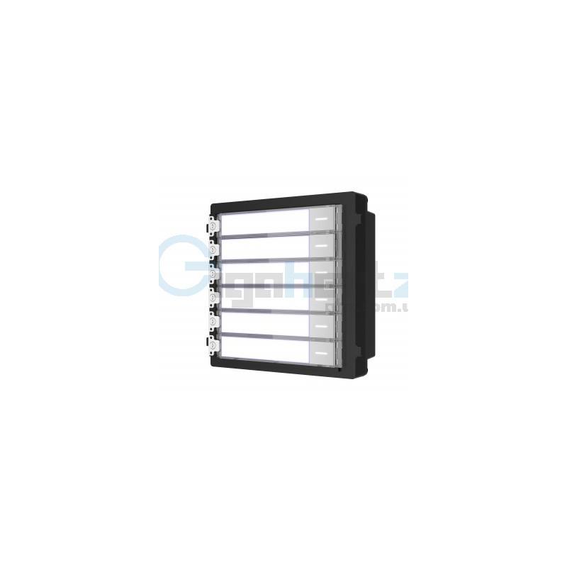 Расширительный модуль на 6 абонентов - Hikvision - DS-KD-KK
