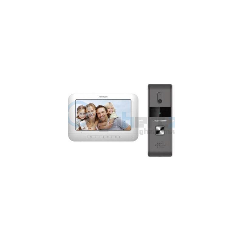 Комплект домофон + вызывная панель Hikvision - DS-KIS203