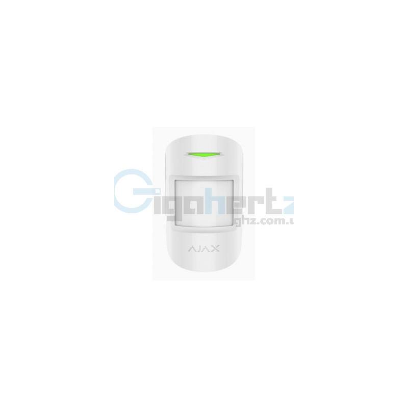 Беспроводной комбинированный датчик движения и разбития стекла - Ajax - CombiProtect (white)