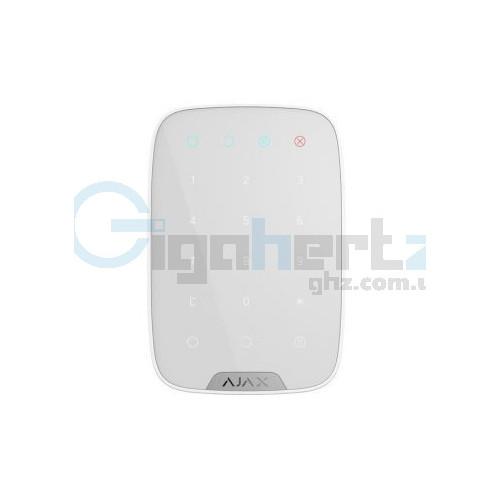 Беспроводная сенсорная клавиатура - Ajax - KeyPad (white)