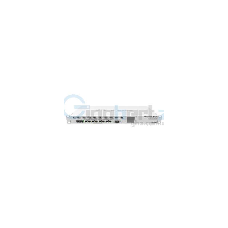 9-портовый маршрутизатор - MikroTik - CCR1009-7G-1C-1S+