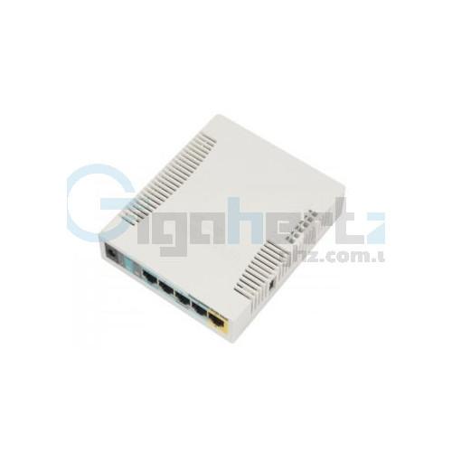 2.4GHz Wi-Fi маршрутизатор с 5-портами Ethernet для домашнего использования - MikroTik - RB951Ui-2HnD