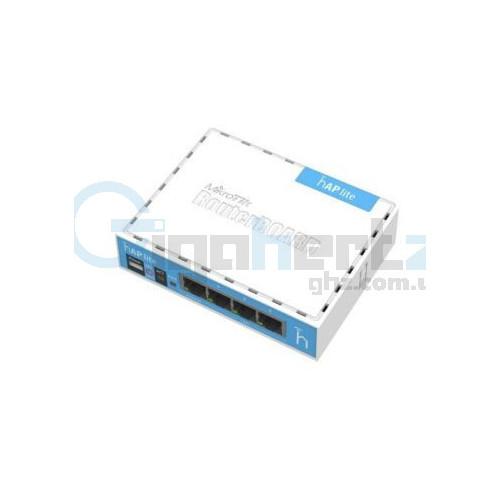2.4GHz Wi-Fi точка доступа с 4-портами Ethernet для домашнего использования - MikroTik - hAP lite (RB941-2nD)