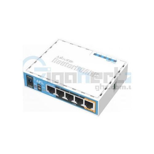 2.4GHz Wi-Fi точка доступа с 5-портами Ethernet для домашнего использования - MikroTik - hAP (RB951Ui-2nD)
