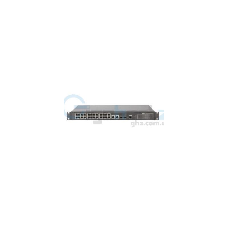 24-портовый управляемый POE коммутатор - Dahua - PFS4226-24ET-240