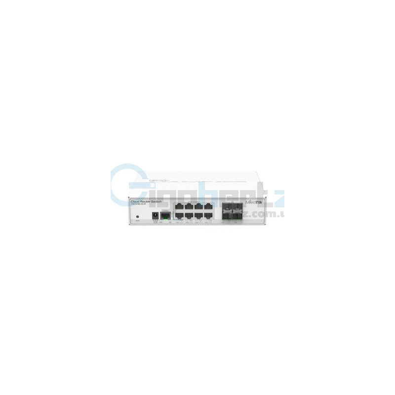 8-портовый управляемый коммутатор - MikroTik - CRS112-8G-4S-IN