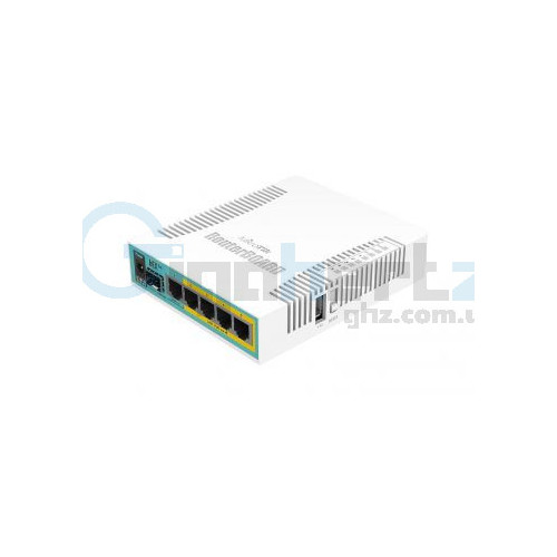 5-портовый PoE маршрутизатор - MikroTik - hEX PoE (RB960PGS)