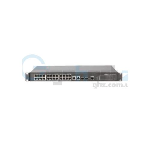 24-портовый управляемый POE коммутатор - Dahua - PFS4226-24ET-360