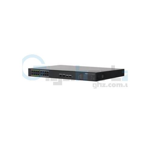 16-портовый управляемый PoE коммутатор c 8 портами ePoE - Dahua - DH-LR2218-16ET-240