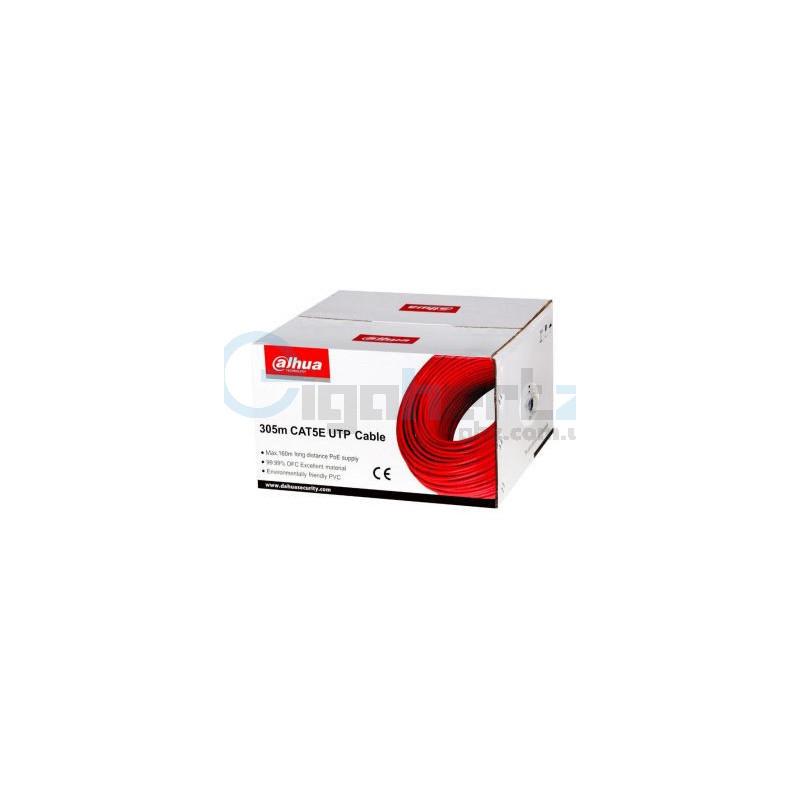 Бухта кабель витая пара (для внутренней прокладки) UTP CAT5e 305м - Dahua - PFM920I-5EUN
