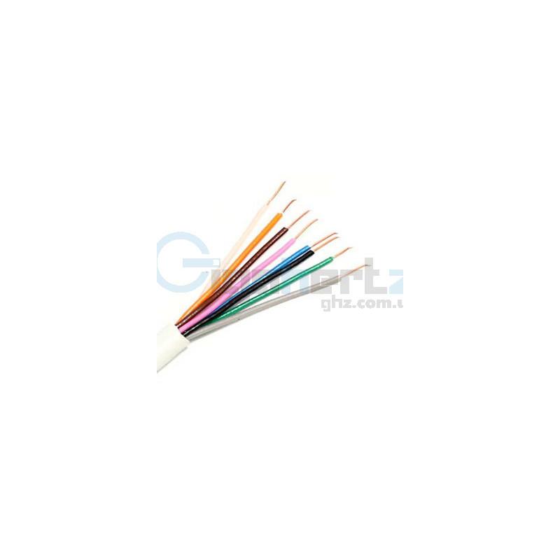 Бухта сигнального кабеля 8x0.22 (100 м) - Viatec - Кабель 8x0.22