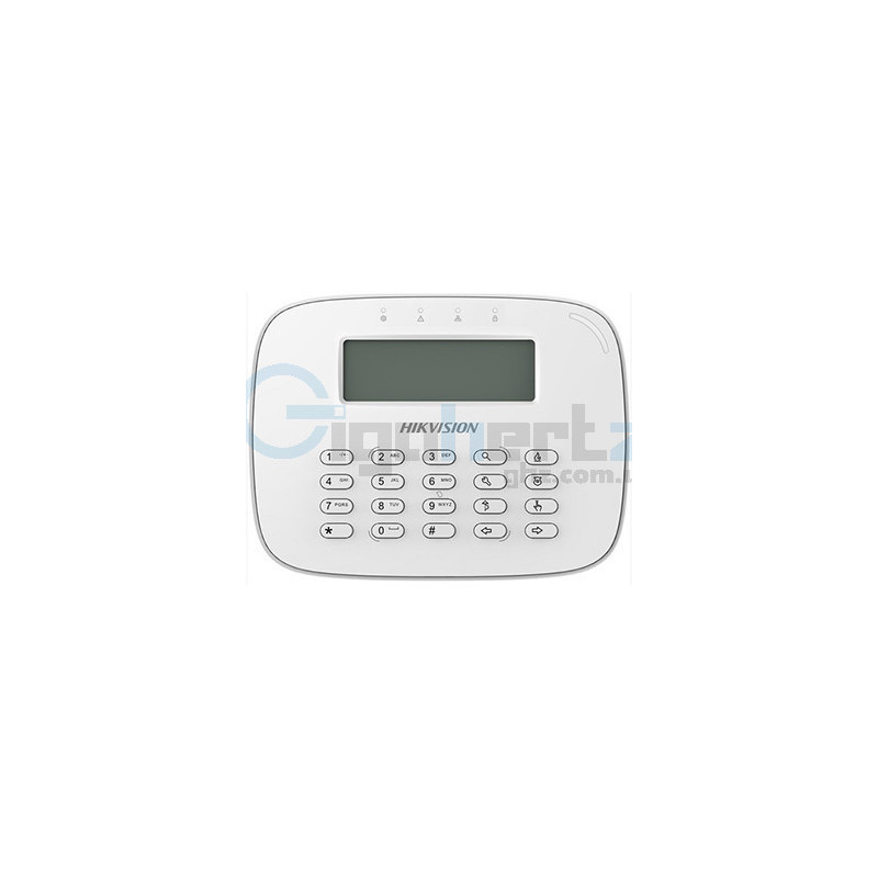 Беспроводная клавиатура с LCD экраном (868MHz) - Hikvision - DS-PK-LRT