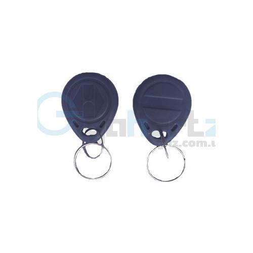 RFID брелок - Viatec - RFID KEYFOB EM RW-Grey