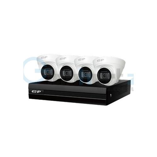 Комплект видеонаблюдения Dahua - Dahua - EZIP-KIT/NVR1B04HC-4P/E/4-T1B20