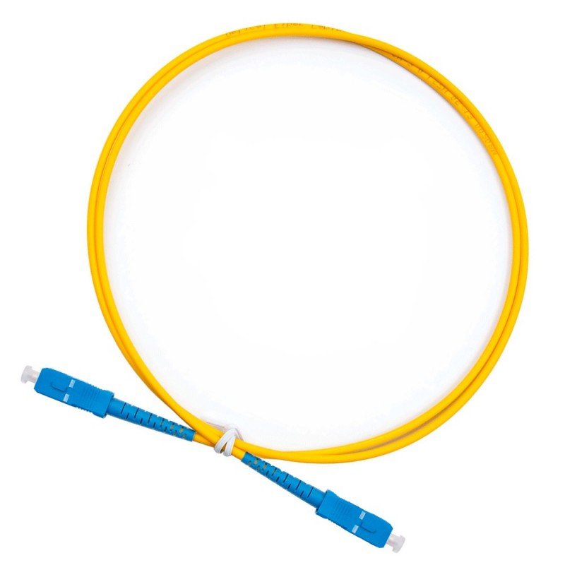 Патч-корд SC/UPC-SC/UPC Simplex PVC 1M