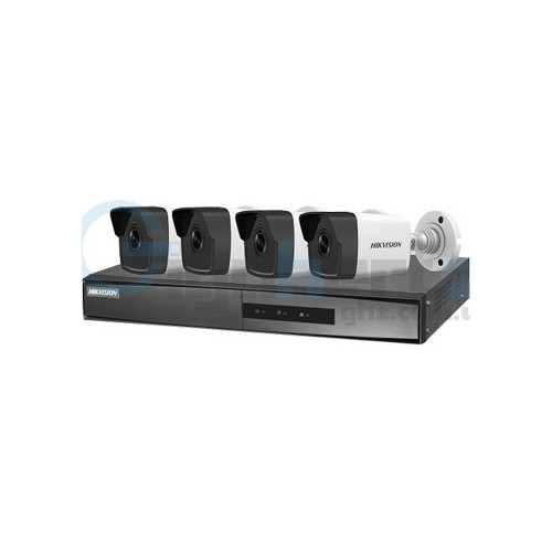 PoE Комплект видеонаблюдения Hikvision - Hikvision - NK42E0H-1T(WD)