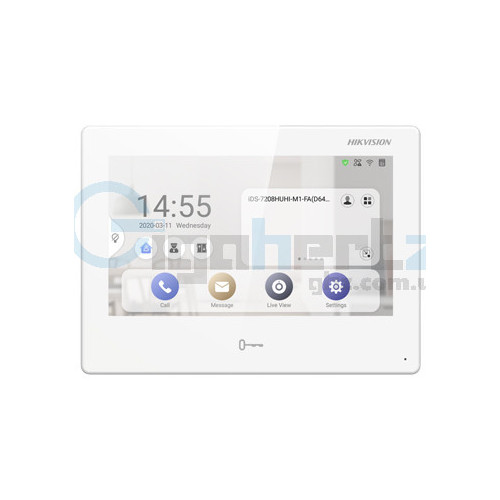 """7"""" IP видеодомофон с Android - Hikvision - DS-KH9310-WTE1"""