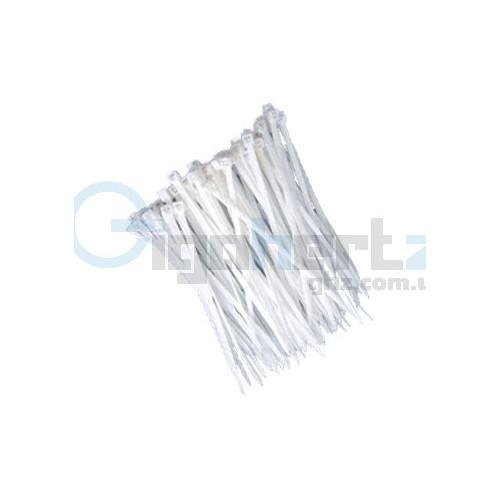Стяжки белые - Courbi - Courbi 2,5x120 мм