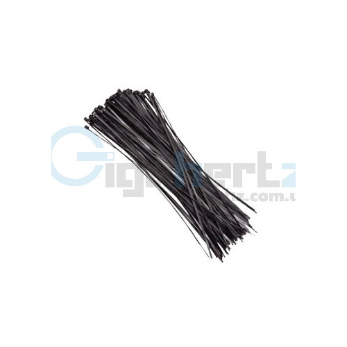 Стяжки чёрные - Courbi - Courbi 3,6x200 мм