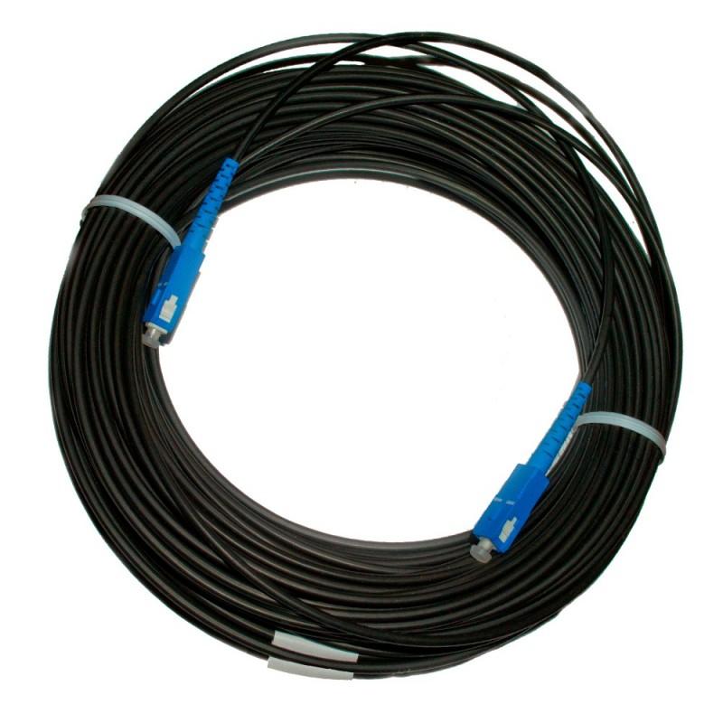 Патч-корд наружный для FTTH-сетей, 200 м, SC/UPC-SC/UPC, диэлектрик (ADSS, LSZH PE, G.657.A)