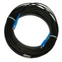 Патч-корд зовнішній для FTTH-мереж, 300 м, SC/UPC-SC/UPC, діелектрик (ADSS, LSZH PE, G.657.A)