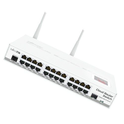Cloud Router Switch CRS125-24G-1S-2HnD-IN MikroTik