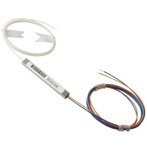 PLC Splitter 1x2, 900 um, 1500 mm, без конекторів