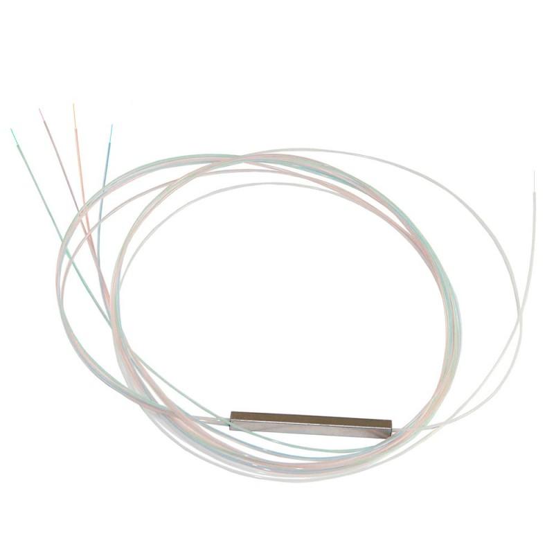 PLC Splitter 1x4, 900 um, 1500 mm, без конекторів